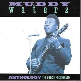 CD ALBUM - MUDDY WATER - THE ANTHOLOGY - FINEST RECORDING.     // BOX C //