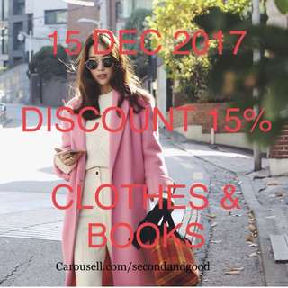 DISC15% ONLY DEC 15