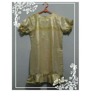 Baju Pesta Anak 4th kuning