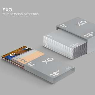 Selling planners only (EXO 2018 season greetings)