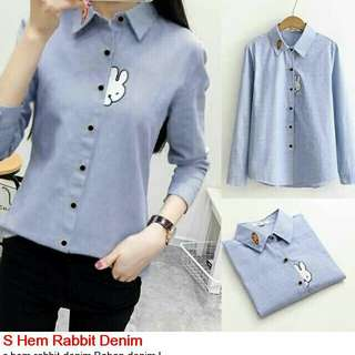 Hem Rabbit Denim