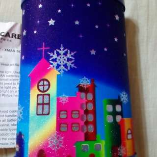 Christmas Display Battery operated Lantern for exchange gift