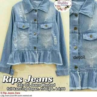 Rip Jeans Zara
