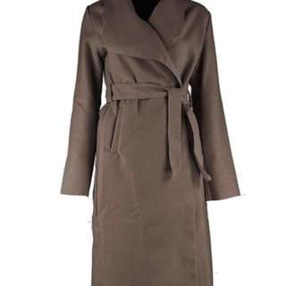 Shawl collar coat