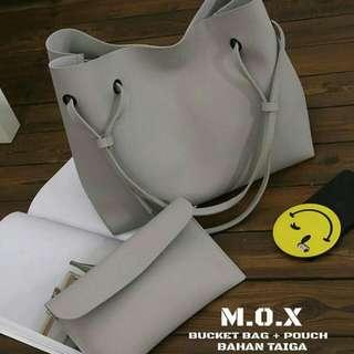 M.O.X Bucket Bag & Pouch