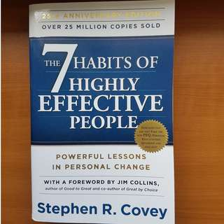 Preloved The 7 Habits of Highly Effective People