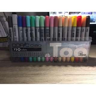 COPIC-Ciao第三代麥克筆72色 A  colors