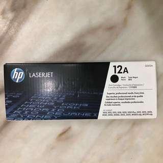 HP laser jet 12A printer ink