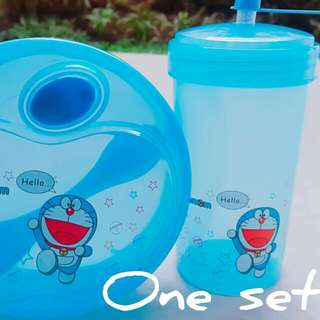 Lunch Box and Tumbler Doraemon