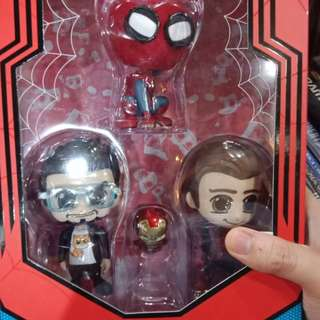 Hottoys Cosbaby Spiderman Homecoming