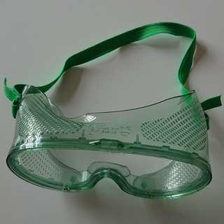 綠色護目鏡