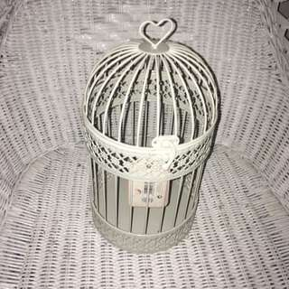 Lovely bird cage deco