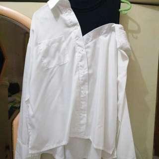 Mky clothing (kemeja putih model)