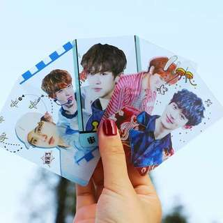 EXO CHANYEOL TRANSPARENT CARDS
