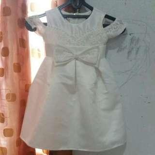 Dress putih anak anak