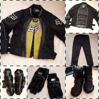 Riders gear