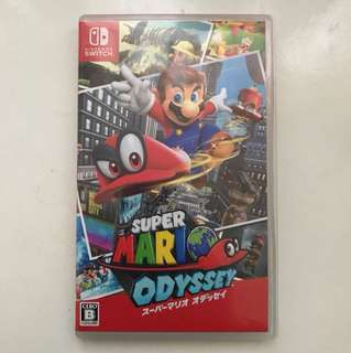🚚 Super Mario Odyssey - Nintendo Switch