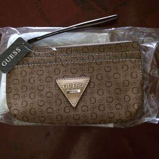 Guess Pouch Wallet Replica with tag