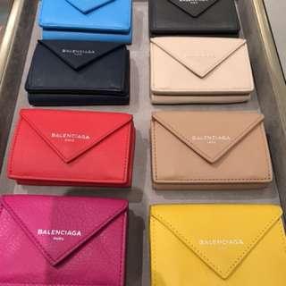 🚚 Balenciaga 巴黎世家 小錢包 皮夾 英國代購
