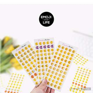 STAPRO 12 sheets Emoji Expression sticker