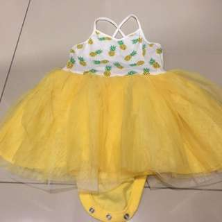 Old Navy baby tutu dress