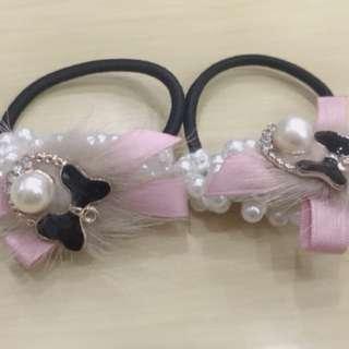 韓國 珍珠氣質髮飾/手飾