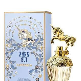 (現貨全新) 75 ml Anna Sui Fantasia 香水 獨角獸 Eau De Toilette