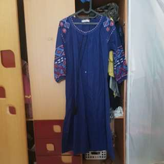 Gamis Dongker by Phoneia