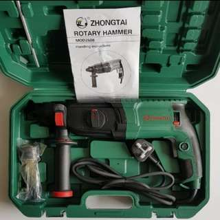 Zhongtai 800Watts Rotary Hammer Drill Professional [ Pic 2 is the buyer review after using the drill ]