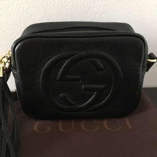 Gucci Soho bag black