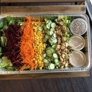 Takeover salad shop