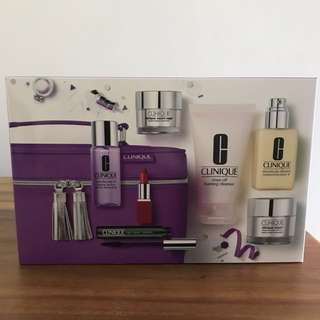 BNIB Best of Clinique Set Containing 5 Full-Size items and 3 Travel items