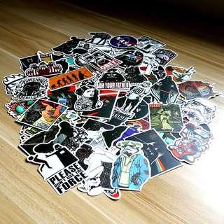 100pcs Star Wars stickers (Assorted)