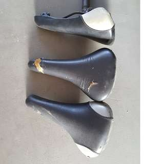 Used bicycle seats