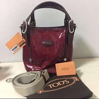 Tod's G-Line Sacca mini maroon