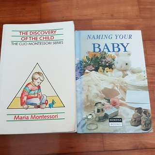 Montessori book and Naming your baby