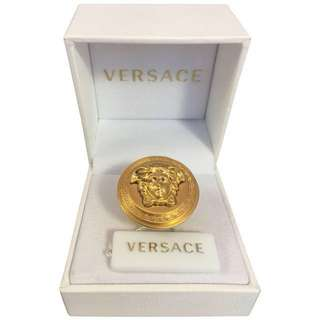 Versace Medusa Gold Ring