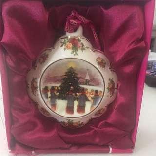 Royal Albert Christmas ornament