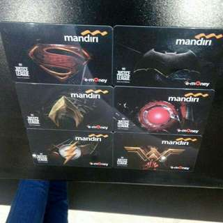 E-money mandiri justice league. Everything must go...