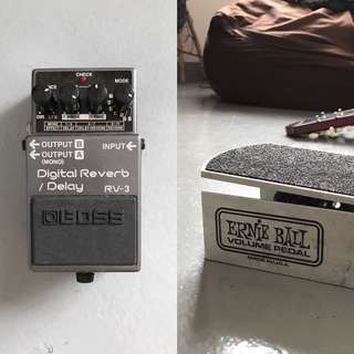Reverb + Volume pedal