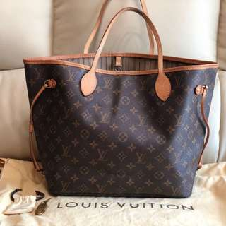 Louis Vuitton neverfull GM 100%real 80%new