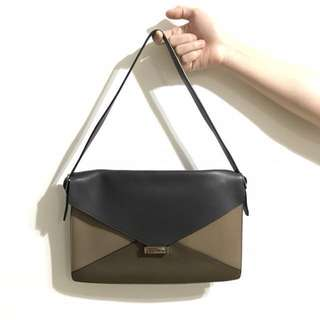 Real - Celine Leather Classic Envelop Bag