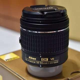 AF-P DX Nikkor 18-55mm f3.5-5.6G VR