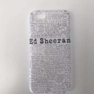 Ed Sheeran I phone 7 case