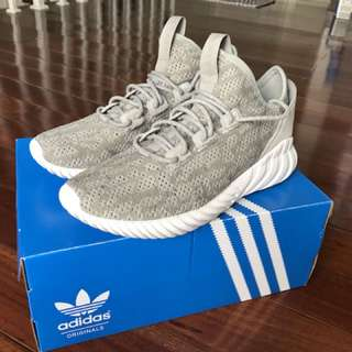 Adidas Tubular Doom Sock Primeknit (Sesame Cry White)