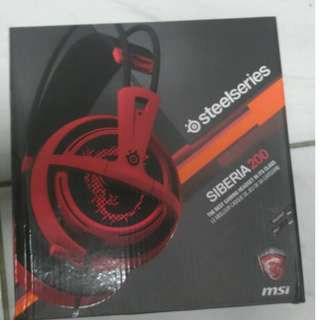 Steelseries Siberia200 MSI Gaming Headset