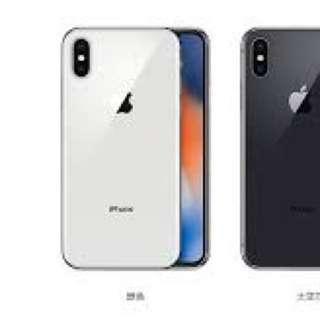 (平過原價)iPhone X 256銀色(全新有單)