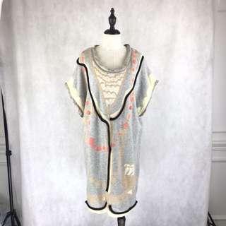 TSUMORI CHISATO Wool Blended Dress *COMPANY SAMPLE