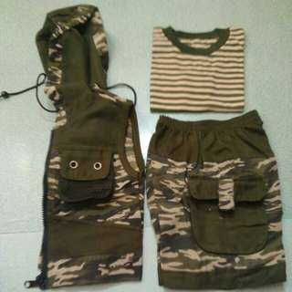 Army outfit 3in1