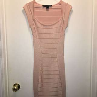 French Connection Bandage style dress